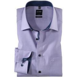 Photo of Olymp Luxor Shirt, moderne Passform, New Kent, violett, 38 Olympus