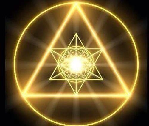 Merkaba Triangle And Circle Symbol Meaning Merkaba Pinterest