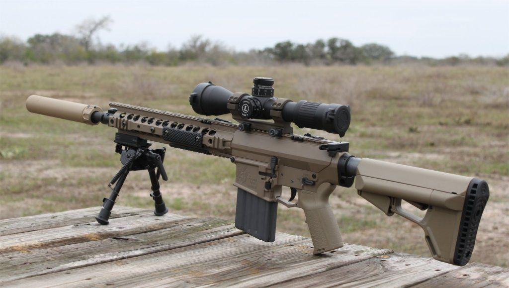 Knights Armament SR25 ECC 308