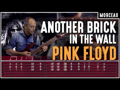 Cours De Guitare Apprendre Another Brick In The Wall De Pink