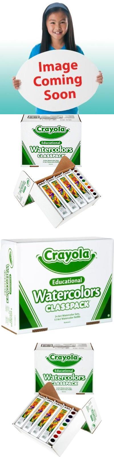 Paint Sets 134569 Crayola Educational Watercolors Classpack 36