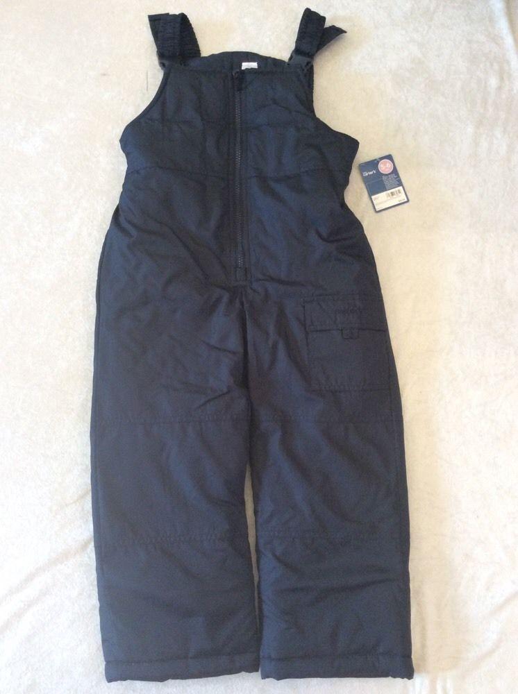 a65b551ee Carters 5 6 Boys Navy Blue Snowsuit Bibs Snow Pants Nwt #Carters #Snowsuit
