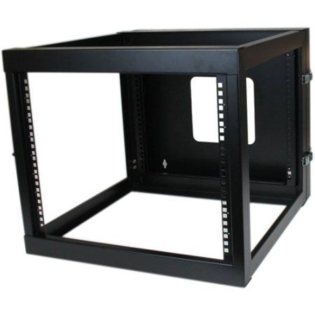 Startech Rk819walloh 8u 22in Open Frame Wall Mount Server Server Rack Frames On Wall Rack Design