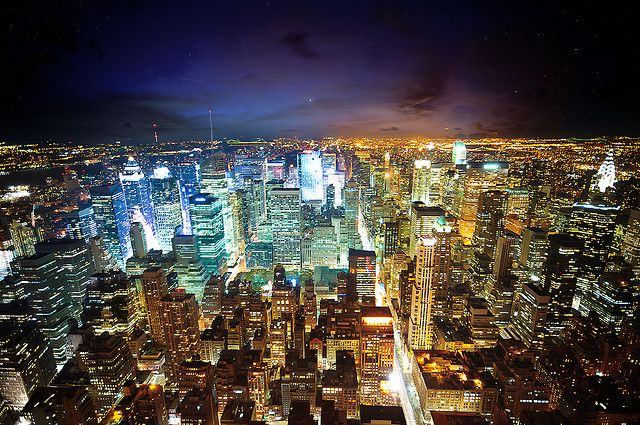 New York The City Of Lights City Lights At Night City Wallpaper New York Night