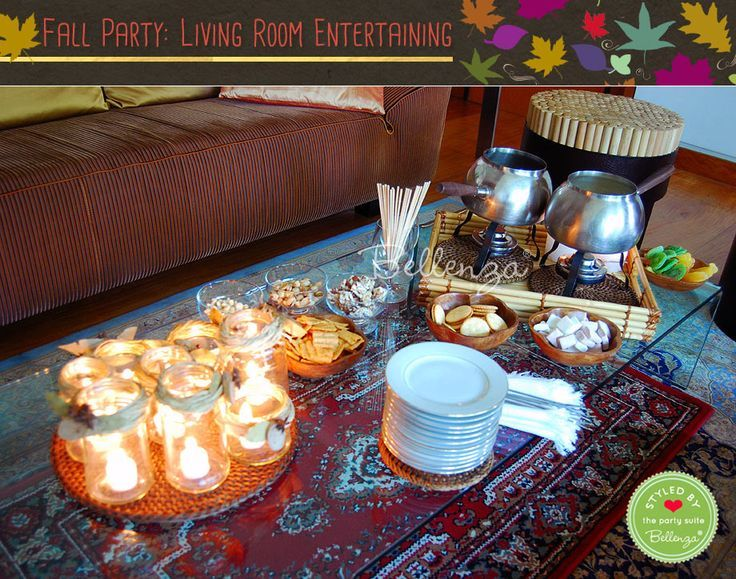 How-To: Host a Casual Fall Party in Your Living Room!