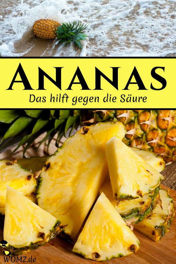 Frische Ananas Was Tun Wenn Die Zunge Brennt Und Prickelt Womz Ananas Essen Lebensmittel Essen