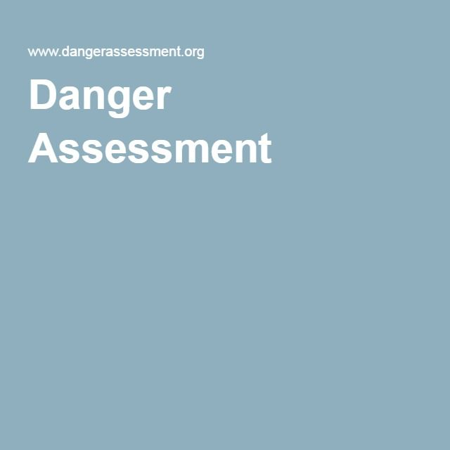 Danger Assessment