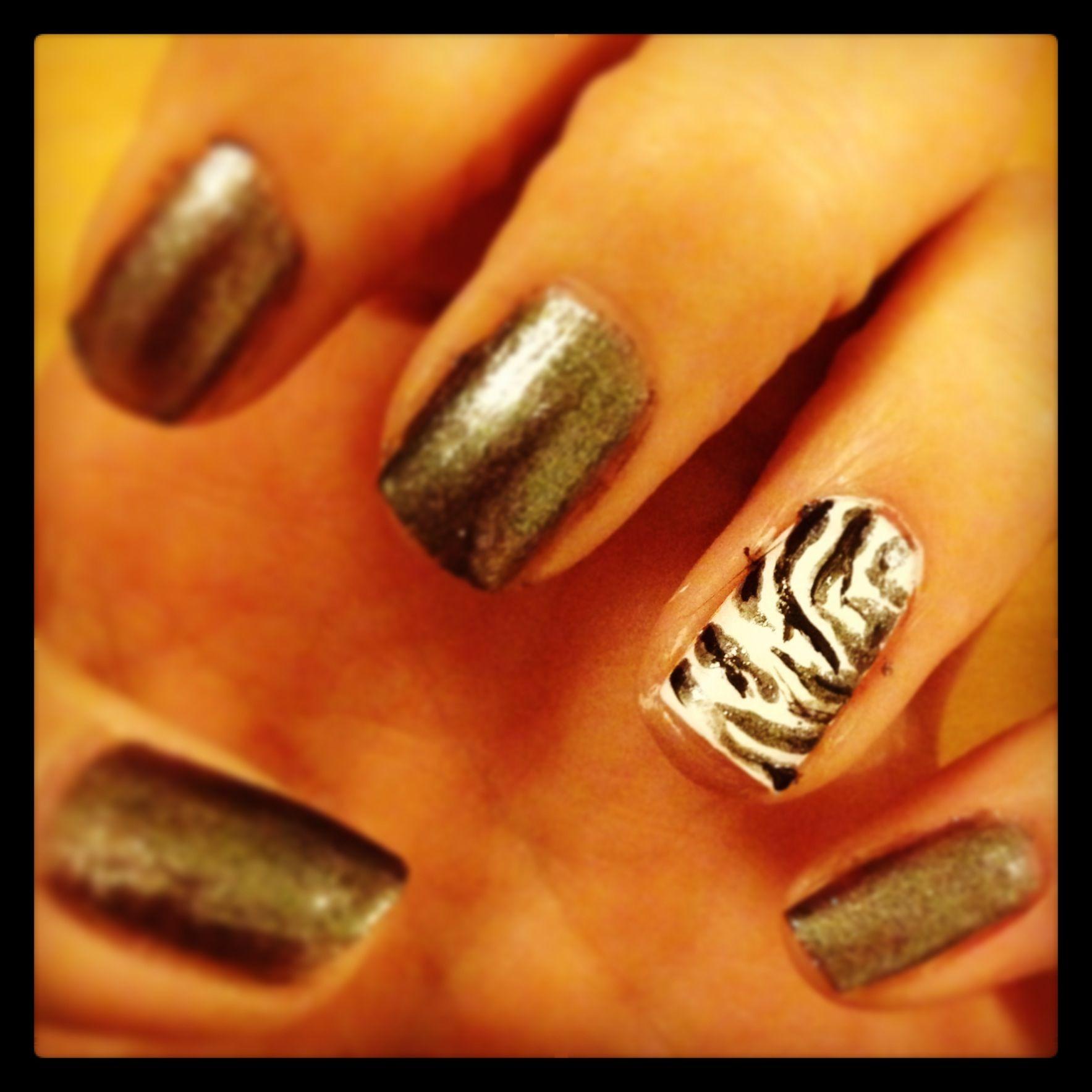 Nail Art Zebra Stripes: Nail Art Stripes, Zebra