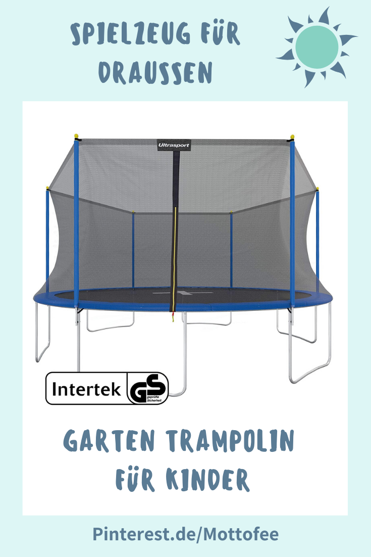 Ein Highlight Fur Den Garten Ein Kinder Trampolin In 2020 Gartentrampolin Trampolin Outdoor Trampolin