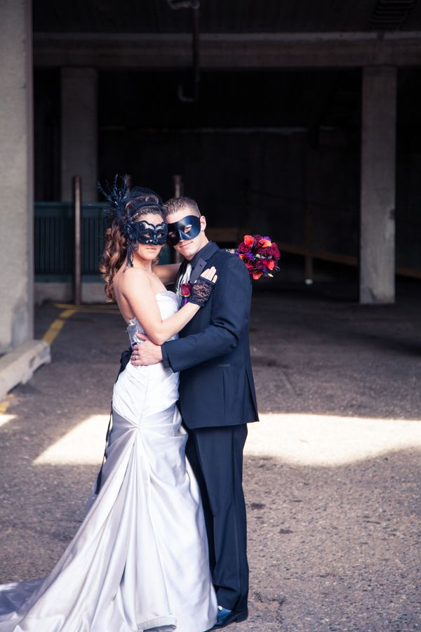 Bride Groom Mask Would Be Fun For Reception Entrance Masquerade
