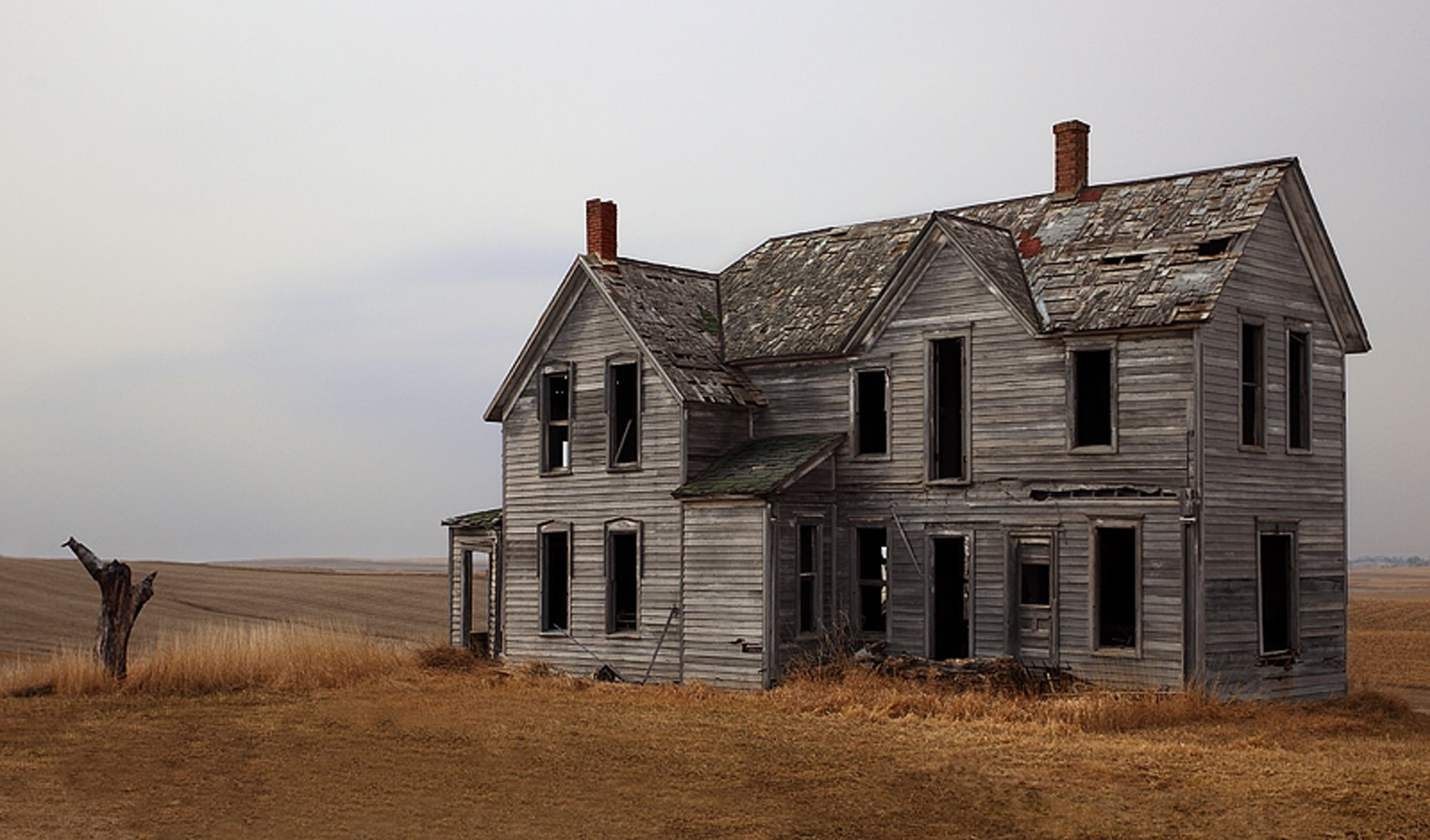 Lovely old abandoned farm house in Iowa | Houses ♥ | Pinterest