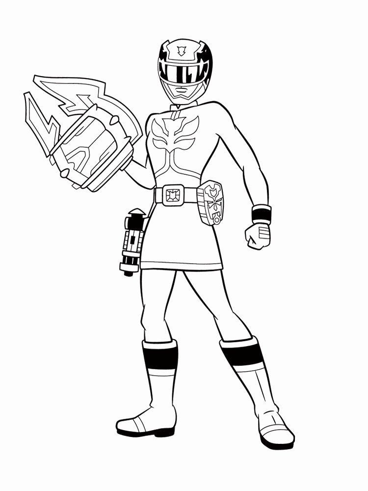 Power Ranger Coloring Book Beautiful Power Rangers Samurai