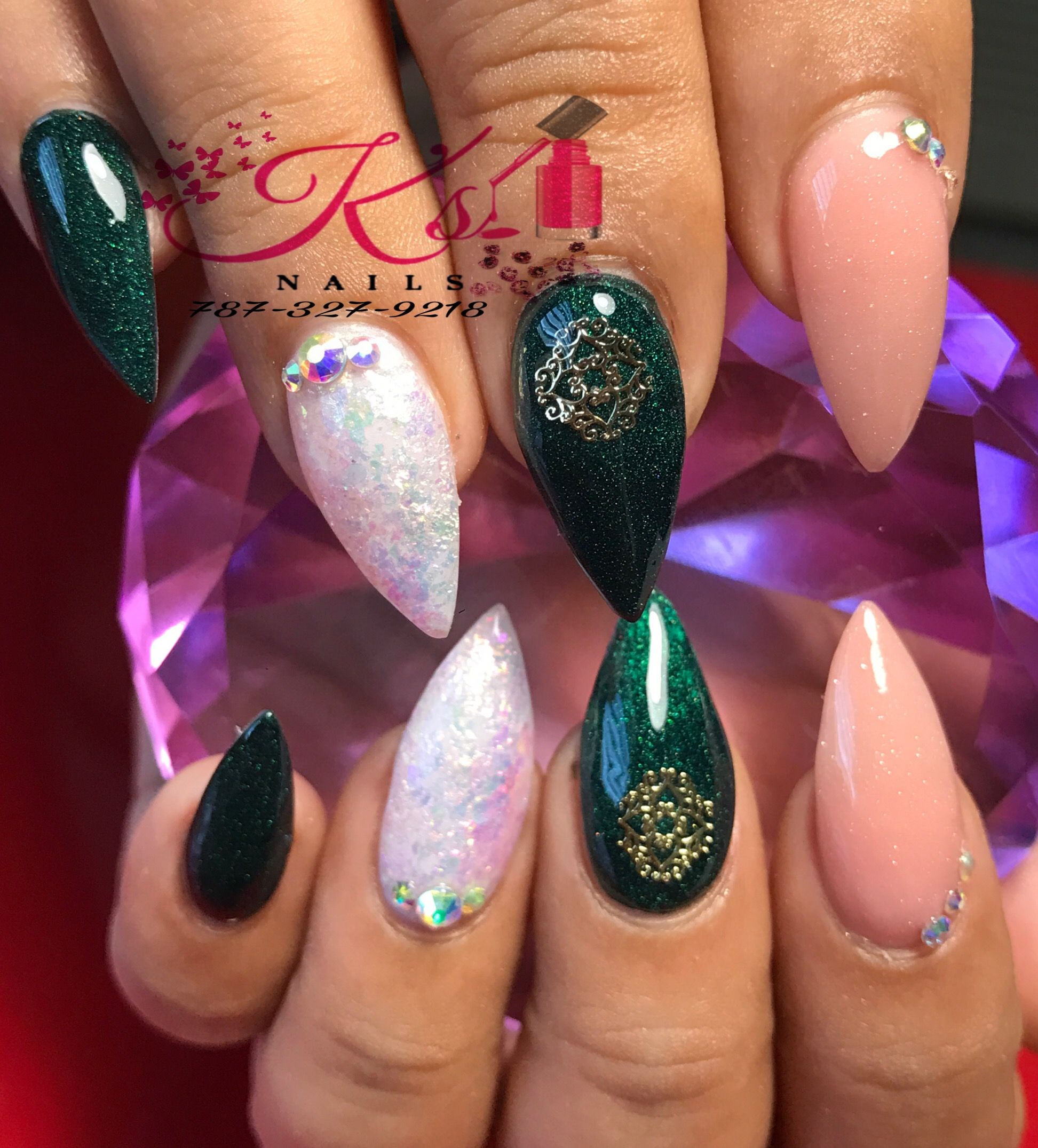 Pin on Nails by Kellie and Company