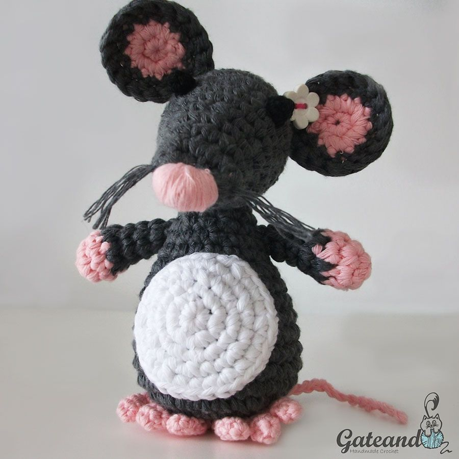 Ravelry: Mouse amigurumi pattern by Gateando Crochet | Crochet I ...