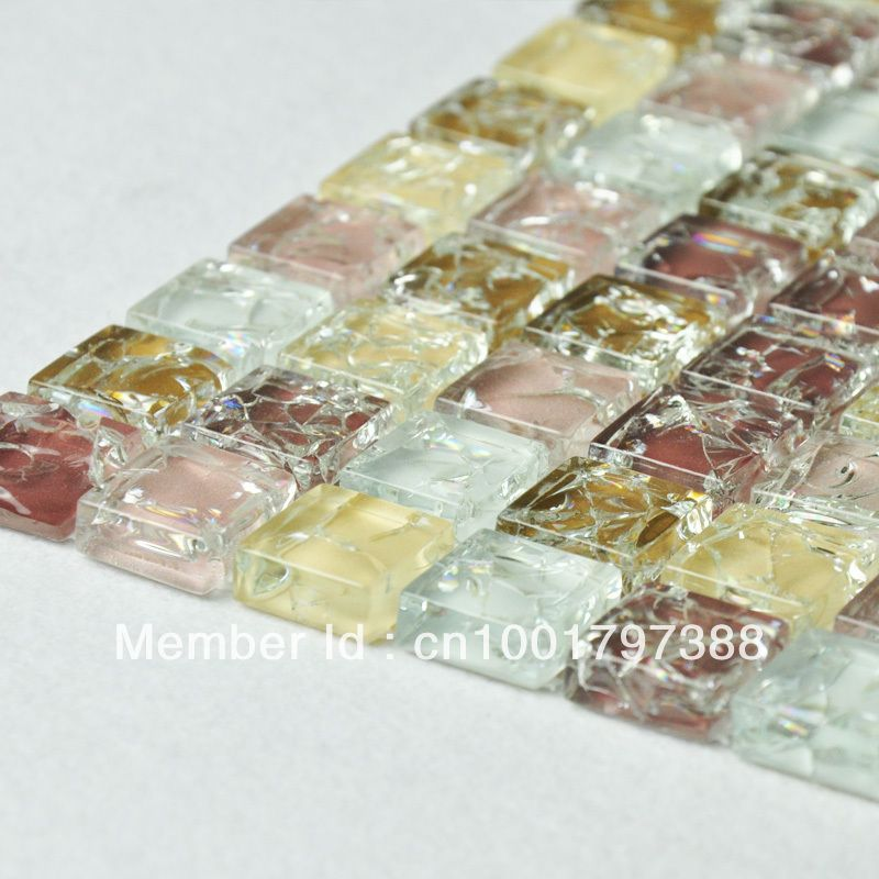 Find More Mosaics Information about Crystal glass mosaic discount ...
