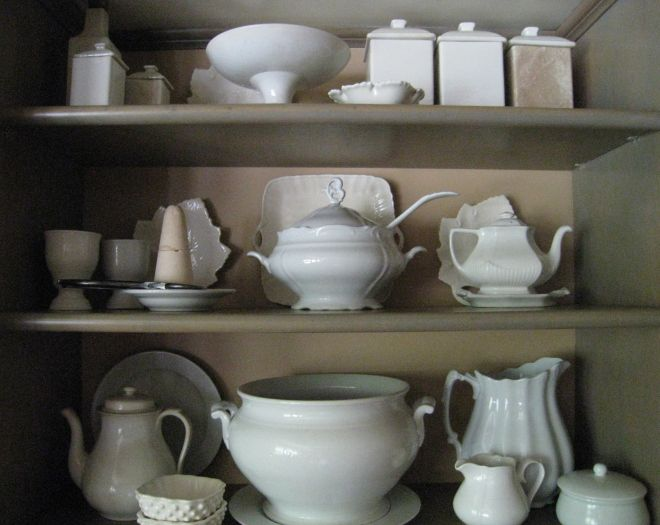 A gentle collection of subtle white ware