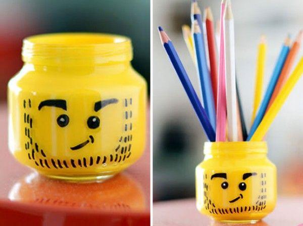 Diy Pencil Holder Mason Jar
