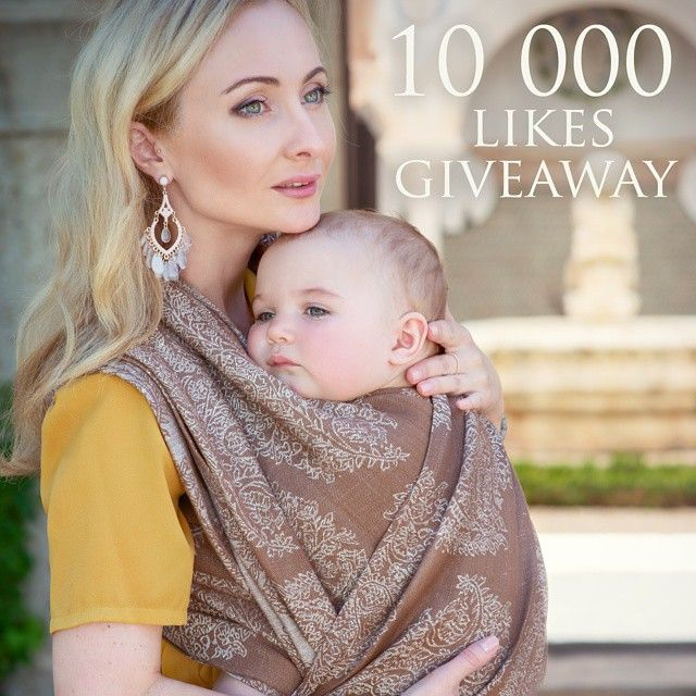 Do not miss a giveaway on our facebook page! #divamilano #divaessenza #babywearing #carrythem