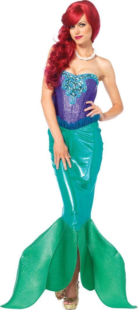 Adult Deep Sea Siren Mermaid Costume - Party City  0446eaf28b2f