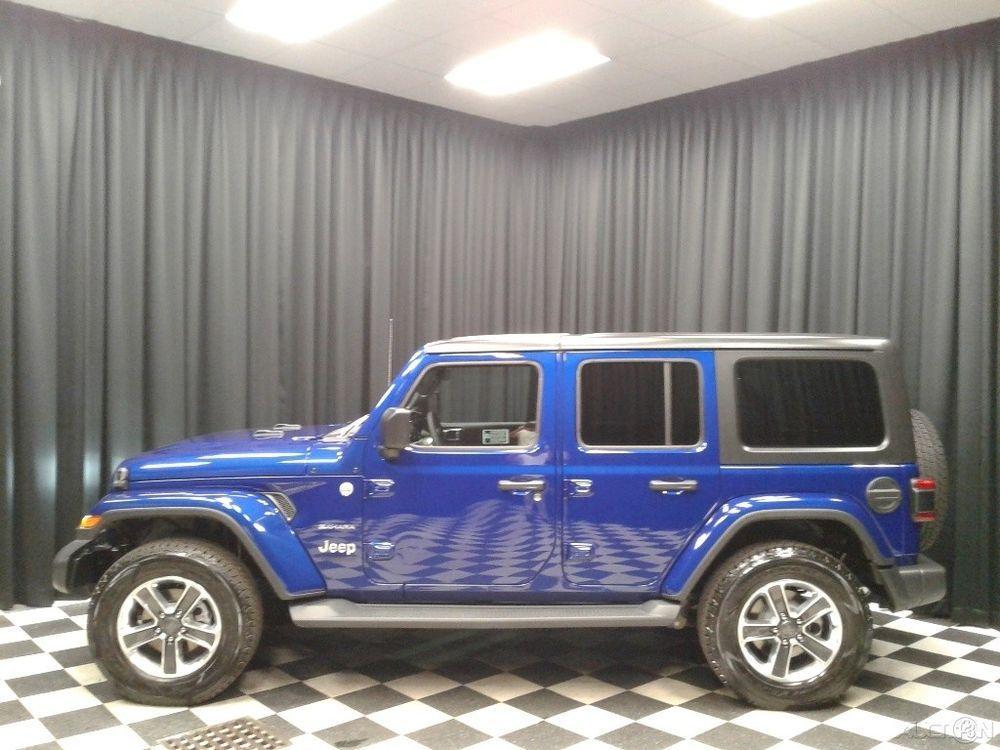 eBay Jeep Wrangler Sahara 2018 Sahara New 3.6L V6 24V
