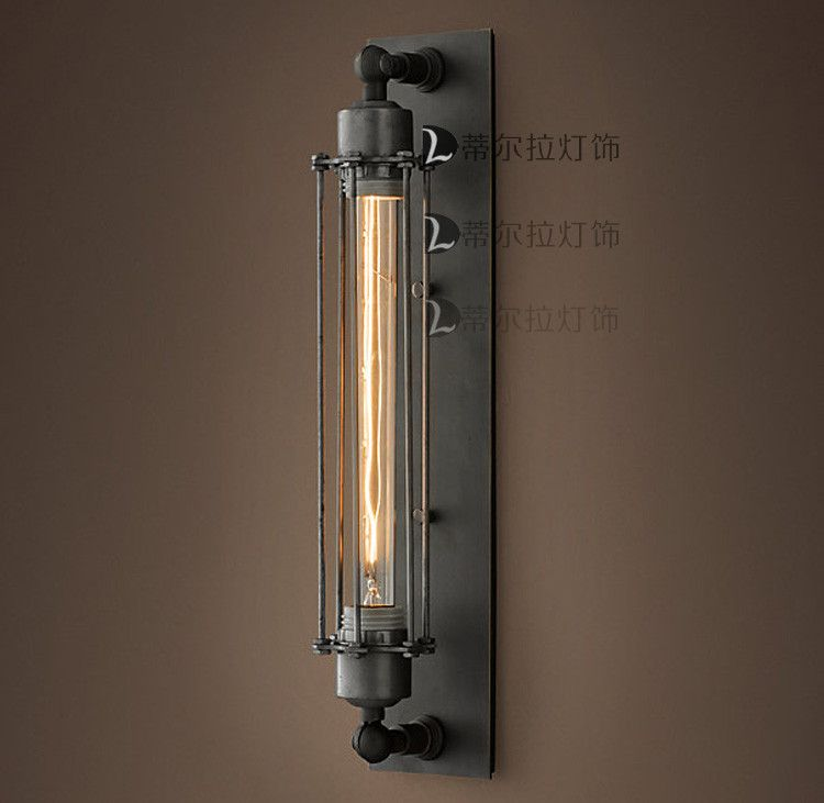 Aliexpress.com : Koop loft vintage smeedijzeren wandlampen Europa Amerikaanse rustieke industriële wandlamp edison lampen wandlampen voor home decor van Betrouwbare lamp-LED licht leveranciers op The Light of Dream lighting.