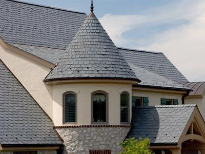 Majestic Slate Synthetic Slate Roofing Tiles
