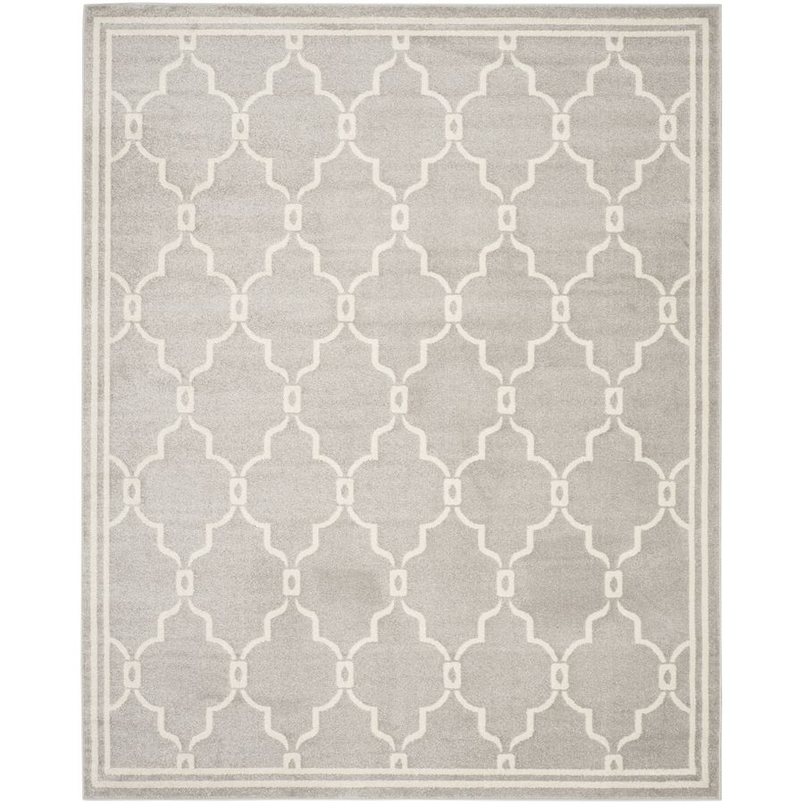 Safavieh Amherst Marion Gray Ivory Indoor Outdoor Moroccan Area Rug