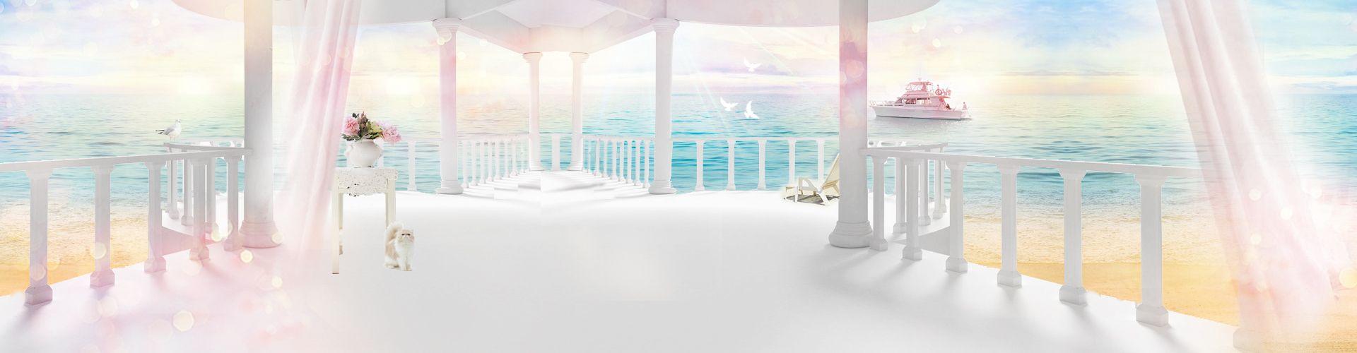 Romantic Wedding Background Banner In 2019 Wedding