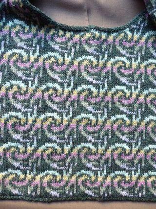 "Decorative ""Seams"" in Stranded Knitting"