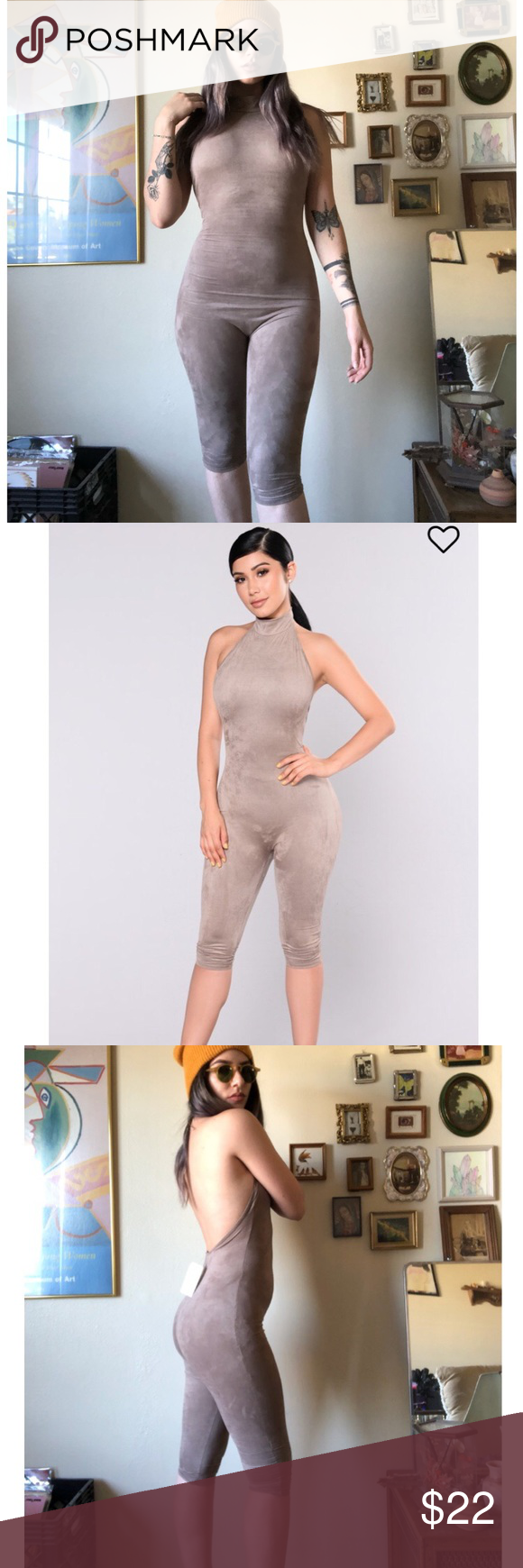 a181dfa55043 FashionNova Shattered Glass Jumpsuit New with tags! Never been worn except