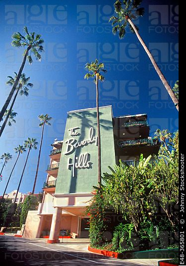 The Beverly Hills Hotel, Beverly Hills. Los Angeles