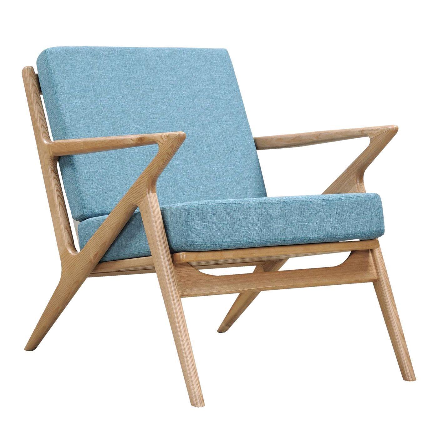 Zain Chair Dodger Blue Greychair Accent Chairs Under 100 White Bedroom Navy