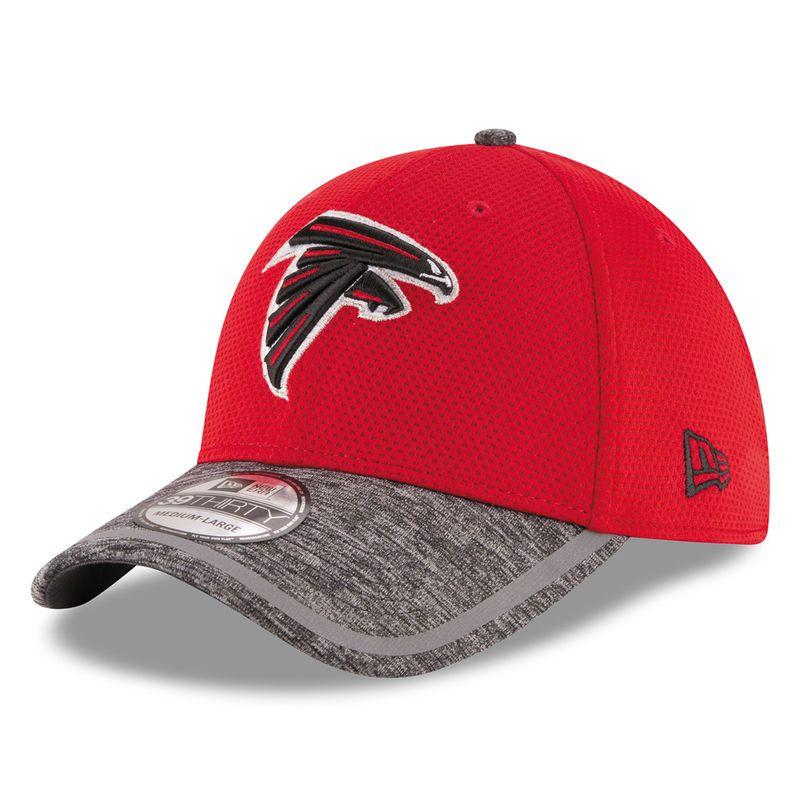 Atlanta Falcons New Era On Field Training Camp 39THIRTY Flex Hat - Red badbc7f0abe
