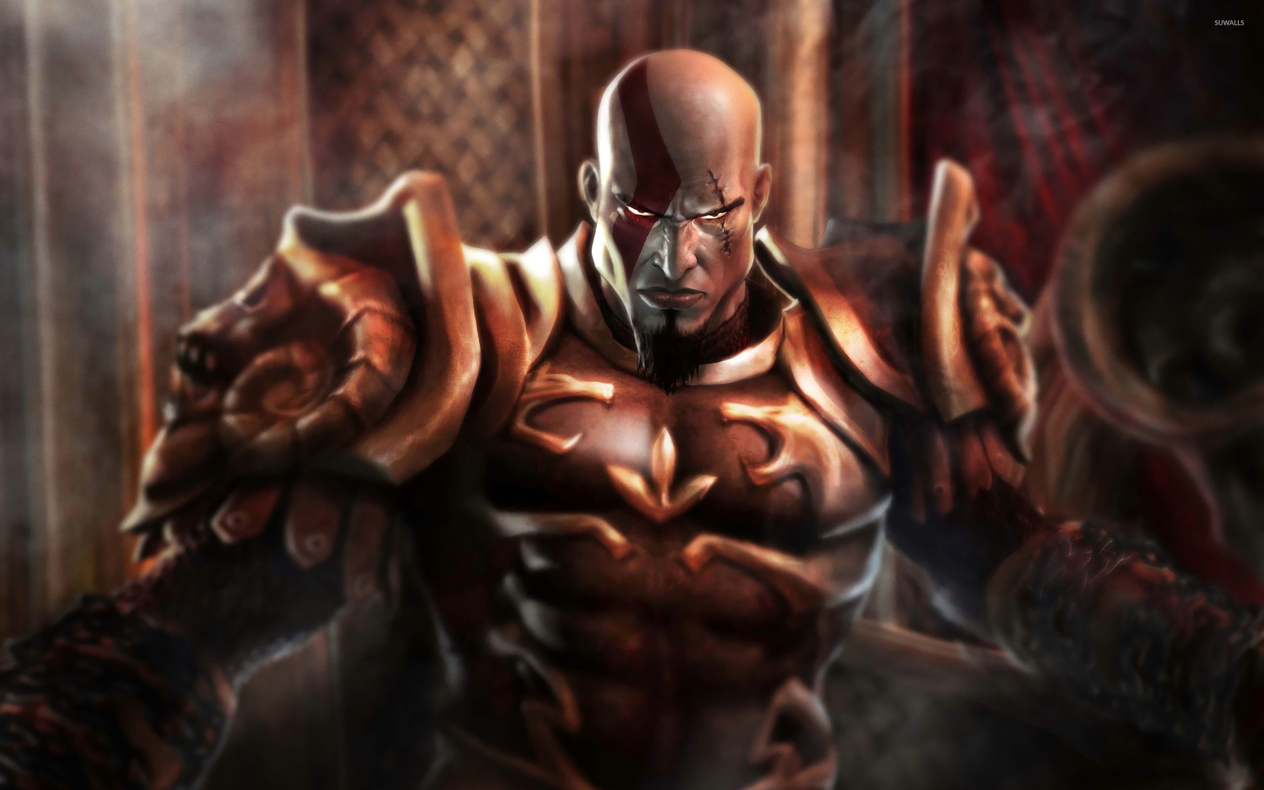 Kratos God Of War Wallpaper Game Wallpapers