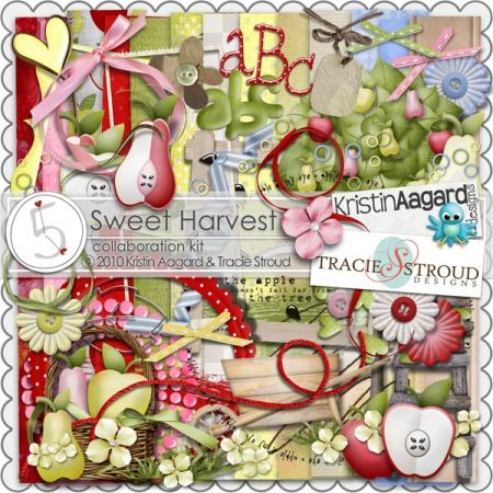 Sweet Harvest by Kristin Aagard and Tracie Stroud