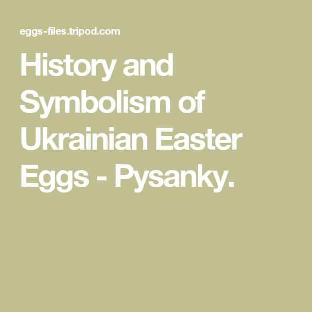 History And Symbolism Of Ukrainian Easter Eggs Pysanky Lenten