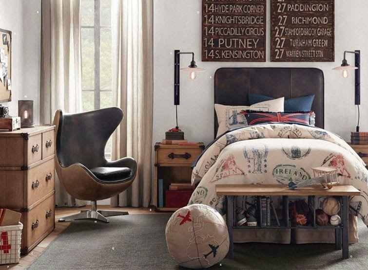 Recopilando las mejores ideas para dormitorios juveniles for Dormitorios juveniles para varones