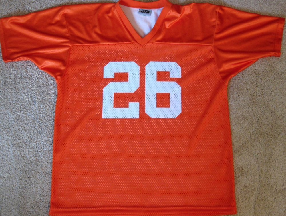 TENNESSEE VOLS FOOTBALL JERSEY NCAA #26 NEW! LARGE **READ ...