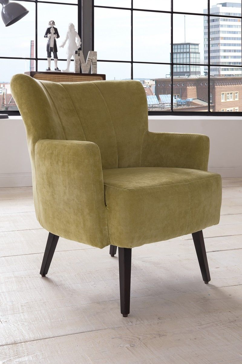 Basel Polstersessel Sessel Im Retro Vintage Stil Design Retro