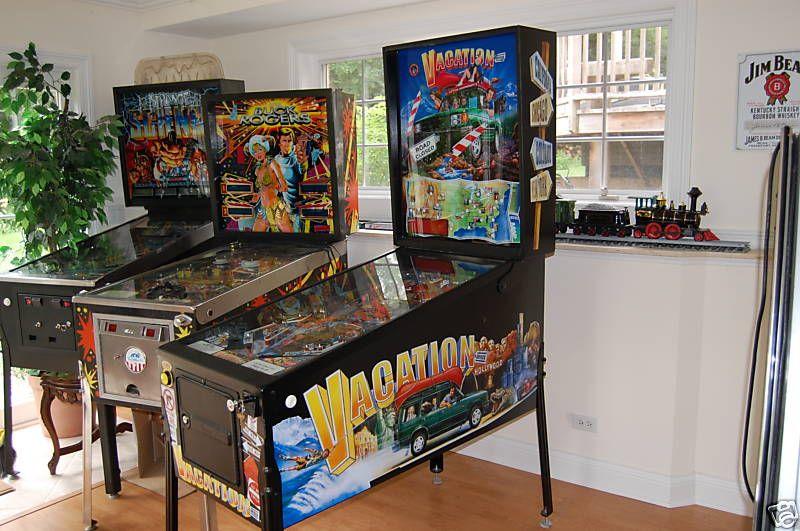 Vacation Pinball Machine