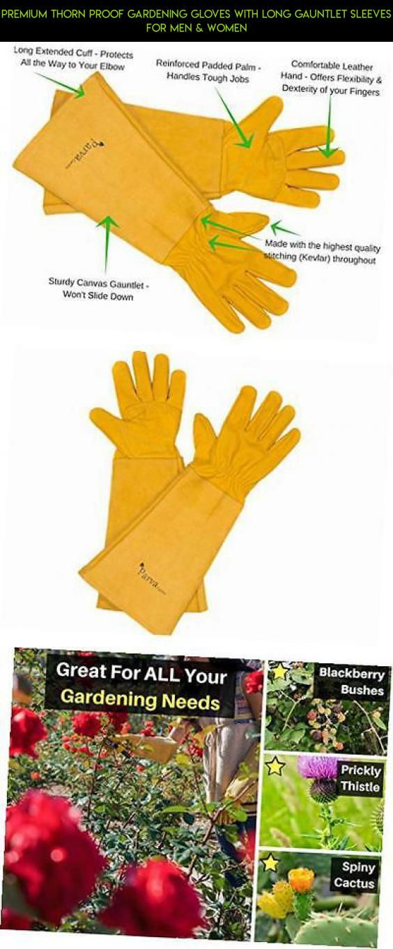 Premium Thorn Proof Gardening Gloves With Long Gauntlet Sleeves For Men U0026  Women #drone #