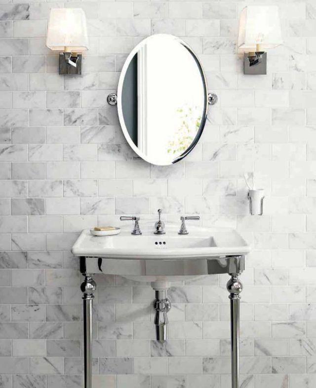 Carrelage gris - bien plus intriguant que vous lu0027imaginez! Powder - salle de bain carrelage gris et blanc