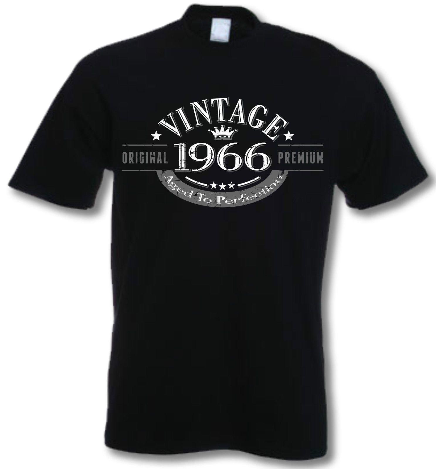 50th Birthday Vintage Year T Shirt