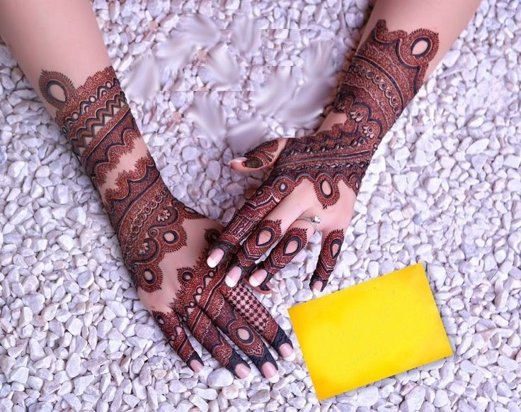 Mehndi Design For Bridal Collection : Unique mehndi designs with outline google search henna art
