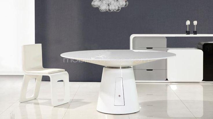 nice Salle à manger - Table Ronde De Salle à Manger Design Avec - salle a manger design moderne