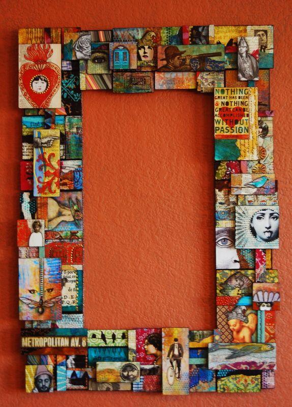 Super cool. Fabulous art...fabulous site. | MARCOS,CUADROS, ESPEJOS ...