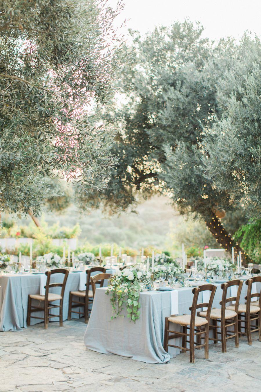 Over the top wedding decorations  Rustic Elegant Crete Destination Wedding  Greek wedding