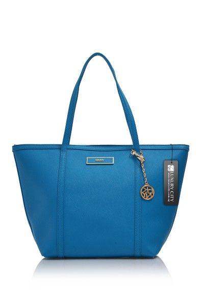 d5b2d4aa5395 DKNY- Saffiano Leather Shoulder Bag  DKNY  Handbags