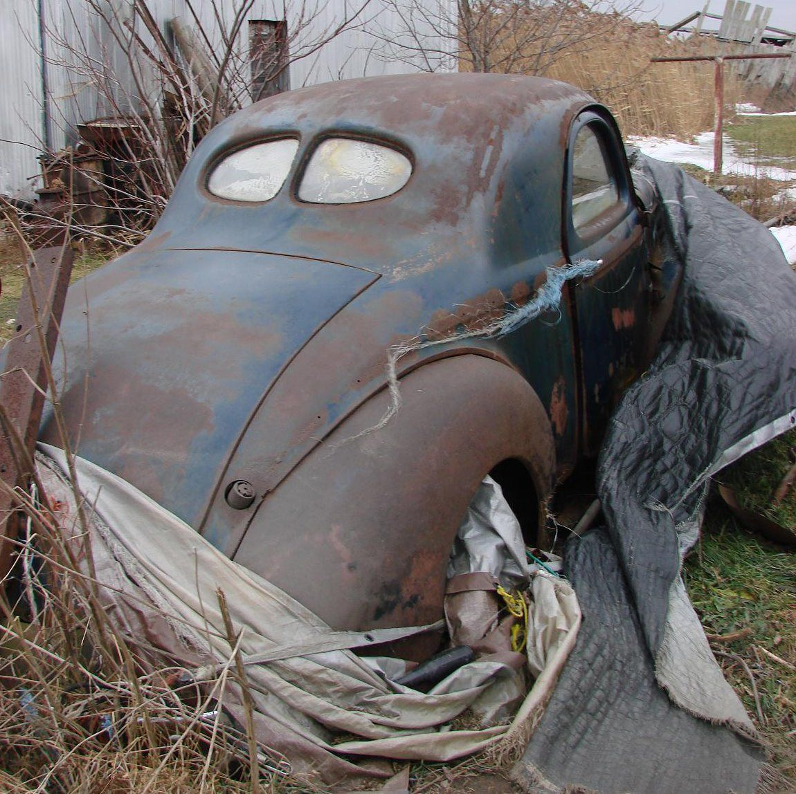 For sale 1940 willys coupe all steel except fiberglass deck lid
