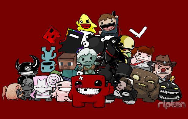 Super Meatboy E Seus Amigos Boys Wallpaper Games Boy